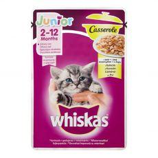 Vrečka Whiskas Casserole Junior piščanec 85 g