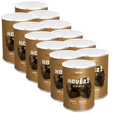 LOUIE goveji zrezki 12 x 400 g