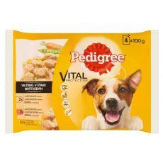 Vrečke Pedigree izbor hran z zelenjavo v omaki 4 x 100 g