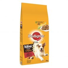 Pedigree Adult Mini goveje meso z zelenjavo 2 kg