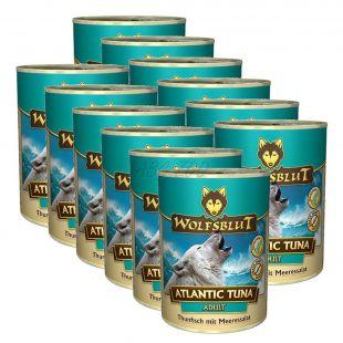 Konzerva WOLFSBLUT Atlantic Tuna, 12 x 395 g