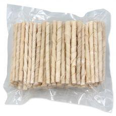 Bele zvite palčke Rasco 12,5 cm / 100 kosov