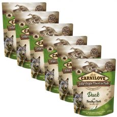 Carnilove Duck with Timothy Grass 6 x 300 g