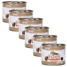 Konzervirana hrana Meat Love Fuel bivol 6 x 200 g