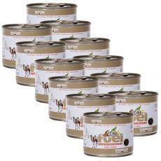 Konzervirana hrana Meat Love Fuel kamelje meso 12 x 200 g