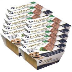 Pašteta Applaws z lososom in zelenjavo za pse, 12 x 150 g