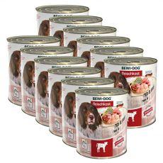 Novo BEWI DOG konzerva – teletina, 12 x 800 g
