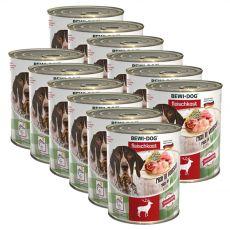 Novo BEWI DOG konzerva – divjačina, 12 x 800 g