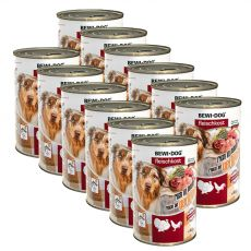 Novo BEWI DOG konzerva – perutnina, 12 x 400 g