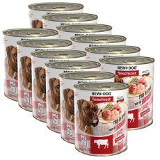 Novo BEWI DOG konzerva – goveji vampi, 12 x 800 g