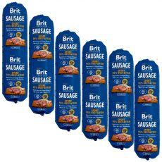 BRIT Sausage SPORT Beef & Fish 6 x 800 g