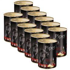 Konzerva Piper Adult goveja jetra in krompir 12 x 400 g