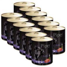 Konzerva Piper Adult kunec 12 x 800 g