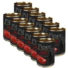 Konzerva Piper Platinum Pure govedina in rjavi riž 12 x 400 g