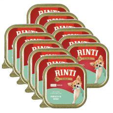 Konzerva Rinti Gold Mini Adult jelen in govedina 12 x 100 g