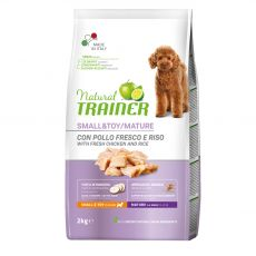 Trainer Natural Small & Toy Maturity chicken 2 kg
