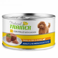 Trainer Natural Adult Small & Toy chicken 150 g