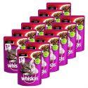 Vrečka Whiskas govedina 12 x 100 g