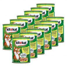 Konzervirana hrana Kitekat piščanec 12 x 800 g