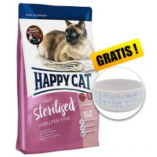 Happy Cat Sterilised Voralpen Rind / Beef 4 kg