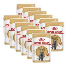 Vrečka z mačjo hrano ROYAL CANIN British Shorthair - 12 x 85 g