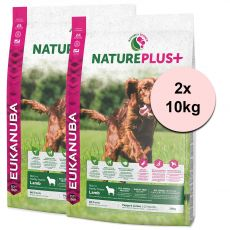 Eukanuba Nature Plus+ Puppy & Junior Rich in freshly frozen Lamb 2 x 10 kg