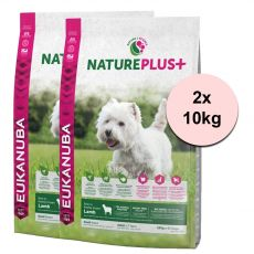 Eukanuba Nature Plus+ Adult Mini Rich in freshly frozen Lamb 2 x 10 kg
