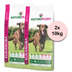 Eukanuba Nature Plus+ Adult Large Breed Rich in freshly frozen Lamb 2 x 10 kg