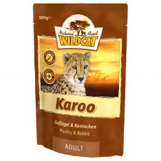 Vrečka Wildcat Karoo Adult 100 g