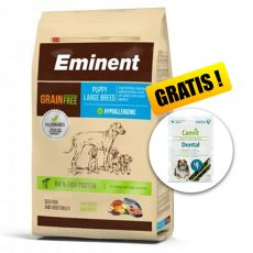 EMINENT Grain Free Puppy Large Breed 12 kg + DARILO