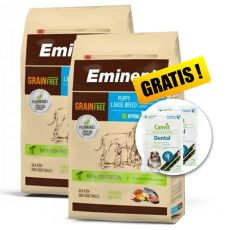 EMINENT Grain Free Puppy Large Breed 2 x 12 kg + DARILO