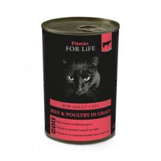 Fitmin Cat For Life Beef 415 g