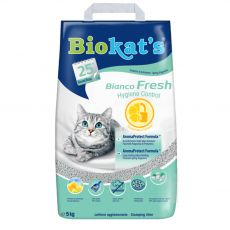 Biokat's Bianco Fresh Hygiene Control litter 5 kg