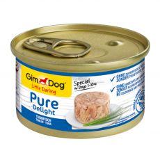 GimDog Pure Delight tuna 85 g