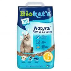 Stelja Biokat's Natural Fior di Cotone 10 kg