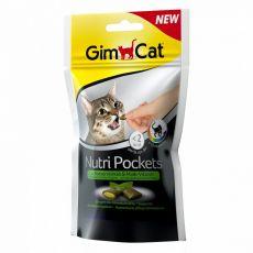 GimCat Nutri Pockets Catnip & Multi-vitamin 60 g