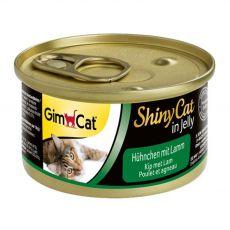 GimCat ShinyCat piščanec + jagnjetina 70 g