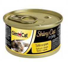 GimCat ShinyCat tuna + sir 70 g
