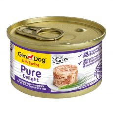 GimDog Pure Delight piščanec + tuna 85 g