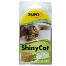 GimCat ShinyCat tuna + mačja meta 2 x 70 g