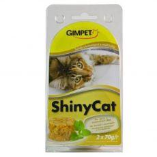 GimCat ShinyCat tuna + rakci + slad 2 x 70 g