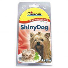 GimBorn ShinyDog piščanec + govedina  2 x 85 g