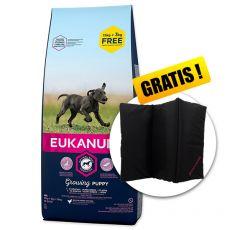 EUKANUBA PUPPY & JUNIOR Large Breed 15kg + 3kg GRATIS + DARILO