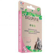 Pipete za odganjanje zajedalcev BIOGANCE Biospotix Cat spot-on 5 x 1 ml