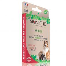 Pasja ovratnica za odganjanje insektov BIOGANCE Biospotix Large dog L-XL 75 cm