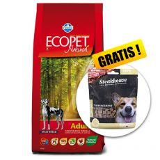 Farmina MO P ECOPET N dog ADULT MAXI 12 kg + 2 kg GRATIS + DARILO