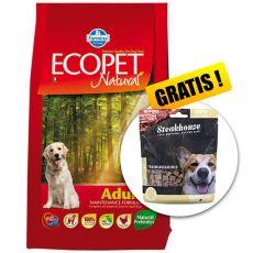 Farmina MO P ECOPET N dog ADULT MEDIUM 12 kg + 2 kg GRATIS + DARILO
