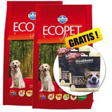 Farmina MO P ECOPET N dog ADULT MEDIUM 2 x 12 kg + 4 kg GRATIS + DARILO