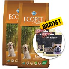 Farmina MO P ECOPET N dog LAMB MAXI 2 x 12 kg + 4 kg GRATIS + DARILO