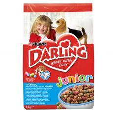 DARLING Junior s piščancem, zelenjavo in vitamini 8 kg